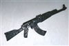 AK-47 Assault Rifle with Wood Stock - 1:18 Scale Weapon for 3 3/4 Inch Action Figures