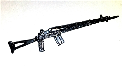 M-14 Assault Rifle with Bayonet - 1:18 Scale Weapon for 3 3/4 Inch Action Figures