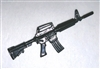 M-4 CARBINE XM177 Assault Rifle M4 - 1:18 Scale Weapon for 3 3/4 Inch Action Figures