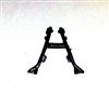 BIPOD Medium Size BLACK Version - 1:18 Scale Weapon Accessory for 3 3/4 Inch Action Figures