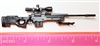 "SOPMOD Sniper Rifle with Scope, Bipod & Ammo Mag BLACK Version - ""Modular"" 1:12 Scale Weapon for 6 Inch Action Figures"