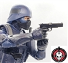 M1911 45 Automatic Pistol BLACK Version - 1:12 Scale Weapon for 6 Inch Action Figures