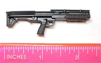 "JW BREACHER Shotgun BLACK Version BASIC - ""Modular"" 1:12 Scale Weapon for 6 Inch Action Figures"