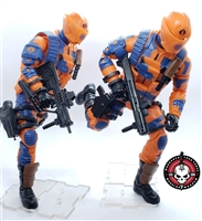 Marauder I.D.S. Action Figure Stands CLEAR (20)- Set of 20 (TWENTY) for 1:12 Scale 6 Inch Figures