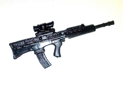 L85 (SA80) Assault Rifle BLACK Version - 1:18 Scale Weapon for 3 3/4 Inch Action Figures