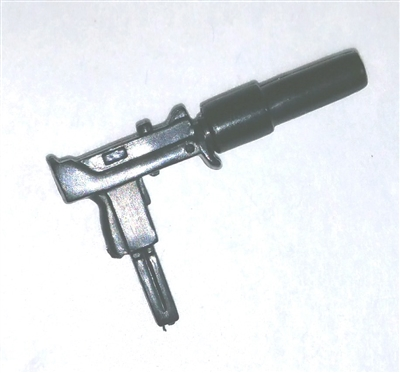 MAC-10 Sub-Machine Gun w/ Silencer - 1:18 Scale Weapon for 3 3/4 Inch Action Figures