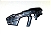 SCI-FI Blaster BLACK Version - 1:18 Scale Weapon for 3 3/4 Inch Action Figures