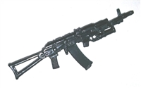 AK-74 Assault Rifle with Grenade Launcher - 1:18 Scale Weapon for 3 3/4 Inch Action Figures