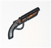 Sawed-Off Double Barrel Shotgun - 1:18 Scale Weapon for 3 3/4 Inch Action Figures