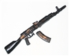 AK-47 / 74 Assault Rifle w/ Removable Ammo Magazine - 1:18 Scale Weapon for 3 3/4 Inch Action Figures