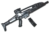 High-Tech Assault Rifle w/ Removable Ammo Mag - 1:18 Scale Weapon for 3 3/4 Inch Action Figures