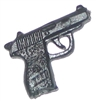 Walther PPK Automatic Pistol - 1:18 Scale Weapon for 3-3/4 Inch Action Figures