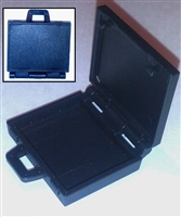 "Briefcase ""Satchel"" with Working Lid - 1:18 Scale Accessory for 3-3/4 Inch Action Figures"
