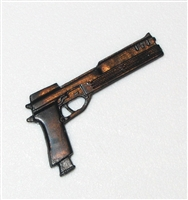 "Automatic Pistol ""Auto-9"" - 1:18 Scale Weapon for 3-3/4 Inch Action Figures"