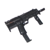 Special Forces Machine Gun with Ammo Mag BLACK Version - 1:18 Scale Weapon for 3-3/4 Inch Action Figures