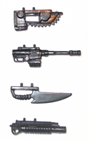 Modular Accessory Set: ARMAMENT  - 1:18 Scale Weapon Accessories for 3-3/4 Inch Action Figures