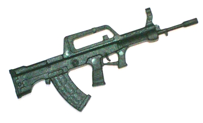 Type 95 QBZ Assault Rifle BLACK Version - 1:18 Scale Weapon for 3-3/4 Inch Action Figures