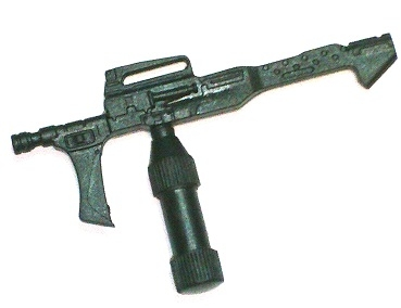 Flamethrower Incendiary Weapon BLACK Version - 1:18 Scale Weapon for 3-3/4 Inch Action Figures