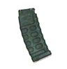 "AMMO MAGAZINE for ""Modular"" AKM Assault Rifles BLACK Version - 1:18 Scale Weapon Accessory for 3-3/4 Inch Action Figures"