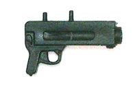 Modular Component: AGTS Grenade Launcher BLACK Version - 1:18 Scale Accessory for 3-3/4 Inch Action Figures