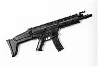 "SOCOM Assault Rifle w/ Mag BLACK Version BASIC - ""Modular"" 1:18 Scale Weapon for 3-3/4 Inch Action Figures"