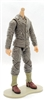 MTF WWII - US ARMY Soldier in Green Uniform, LIGHT Skin Tone (WITHOUT Head) - 1:18 Scale Marauder Task Force Action Figure