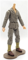 MTF WWII - US MARINE in Green Uniform, LIGHT Skin Tone (WITHOUT Head) - 1:18 Scale Marauder Task Force Action Figure