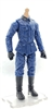 MTF WWII - GERMAN Soldier in BLUE Uniform, LIGHT Skin Tone (WITHOUT Head) - 1:18 Scale Marauder Task Force Action Figure