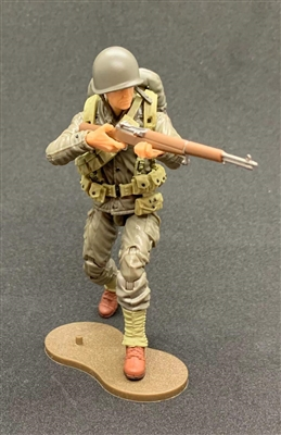 MTF WWII - Deluxe US ARMY RIFLEMAN with Gear - 1:18 Scale Marauder Task Force Action Figure