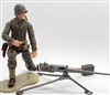 MTF WWII - Deluxe US ARMY 50 CAL MACHINE GUNNER with Gear - 1:18 Scale Marauder Task Force Action Figure