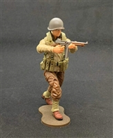 MTF WWII - Deluxe US ARMY SUB-MACHINE GUNNER with Gear - 1:18 Scale Marauder Task Force Action Figure