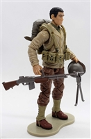 MTF WWII - Deluxe US ARMY JAPANESE-AMERICAN SOLDIER with Gear - 1:18 Scale Marauder Task Force Action Figure