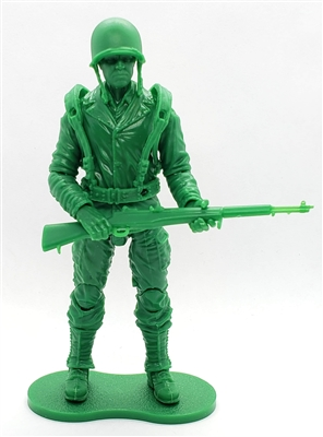 MTF WWII - Deluxe US ARMY SOLID GREEN ARMYMAN with Gear - 1:18 Scale Marauder Task Force Action Figure