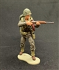 MTF WWII - Deluxe US MARINE RIFLEMAN with Gear - 1:18 Scale Marauder Task Force Action Figure
