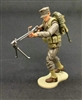 MTF WWII - Deluxe US MARINE BAR GUNNER with Gear - 1:18 Scale Marauder Task Force Action Figure