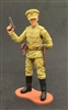MTF WWII - Deluxe RUSSIAN OFFICER with Gear - 1:18 Scale Marauder Task Force Action Figure