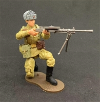 MTF WWII - Deluxe RUSSIAN DPM MACHINE GUNNER with Gear - 1:18 Scale Marauder Task Force Action Figure
