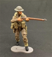 MTF WWII - Deluxe BRITISH RIFLEMAN with Gear - 1:18 Scale Marauder Task Force Action Figure