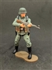 MTF WWII - Deluxe GERMAN MP44 GUNNER with Gear - 1:18 Scale Marauder Task Force Action Figure