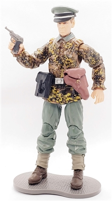 MTF WWII - Deluxe GERMAN CAMO PANZER GRENADIER OFFICER with Gear - 1:18 Scale Marauder Task Force Action Figure