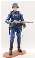 MTF WWII - Deluxe BLUE GERMAN with Gear - 1:18 Scale Marauder Task Force Action Figure