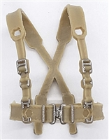 "WWII British: Harness Rig ""Web-Gear"" Pattern 37 - 1:18 Scale Modular MTF Accessory for 3-3/4"" Action Figures"