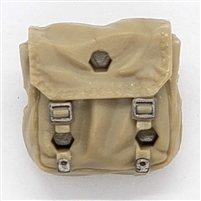 "WWII British: Backpack - 1:18 Scale Modular MTF Accessory for 3-3/4"" Action Figures"