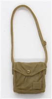 "WWII Japanese:  Satchel ""Haversack"" with Strap - 1:18 Scale MTF Accessory for 3-3/4"" Action Figures"