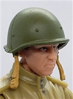 "WWII Russian: SSH-40 Helmet - 1:18 Scale Modular MTF Accessory for 3-3/4"" Action Figures"