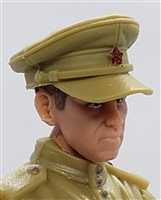 "WWII Russian: Officer Cap - 1:18 Scale Modular MTF Accessory for 3-3/4"" Action Figures"