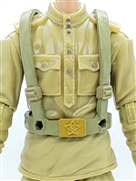"WWII Russian: Harness Rig ""Web-Gear"" - 1:18 Scale Modular MTF Accessory for 3-3/4"" Action Figures"