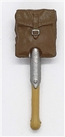 "WWII Russian:  Entrenching Tool (Shovel) - 1:18 Scale Modular MTF Accessory for 3-3/4"" Action Figures"