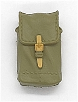 "WWII Russian:  Large Grenade Pouch - 1:18 Scale Modular MTF Accessories for 3-3/4"" Action Figures"