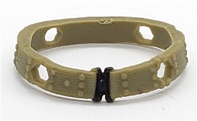 "WWII US:  Web-Belt - 1:18 Scale Modular MTF Accessory for 3-3/4"" Action Figures"
